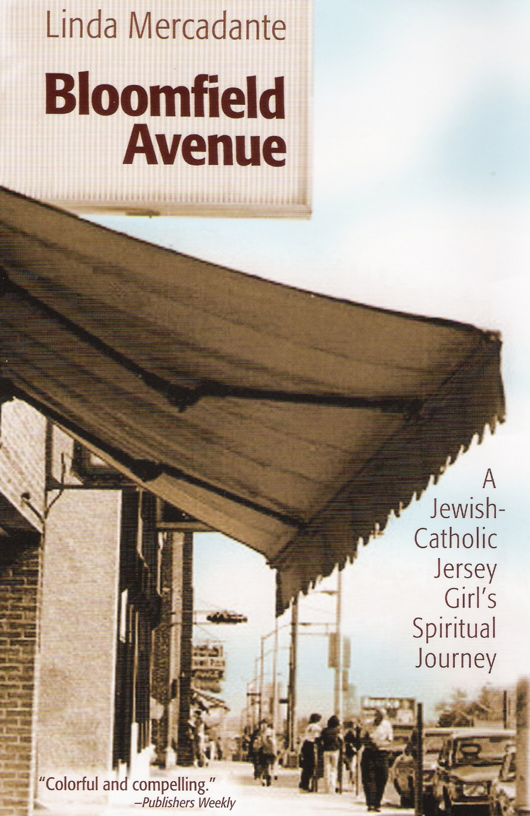 Book Cover - Bloomfield Avenue